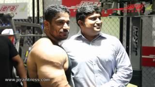 Kishore Shetty  at Jerai Fitness Cage - Sheru Classic 2013