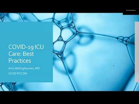 COVID-19 Critical Care Training Forum: Episode 14