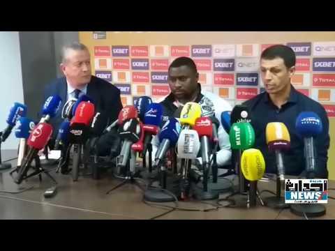 جمال السلامي مدرب الرجاء الرياضي يتحدث عن إصابة الشاكير و بوطيب .