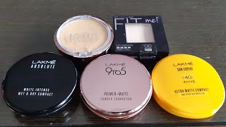 Top 5 compact for summers n monsoon, affordable compact for monsoon, compact for brides n beginners