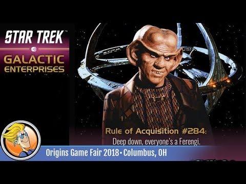 Star Trek: Galactic Enterprises — game preview at Origins 2018