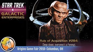 Star Trek: Galactic Enterprises — game preview at Origins 2018