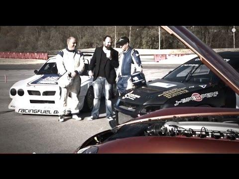 Racekhana: Lancia Delta S4 vs. Mitsubishi Evo 8 vs. Dodge Viper