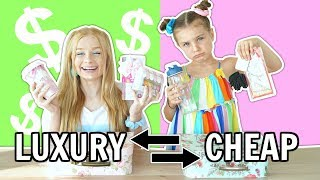 Back To SCHOOL SUPPLIES Switch Up Challenge: LUXURY vs CHEAP!