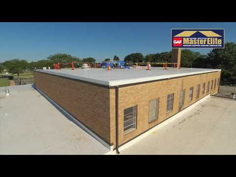 Beecher High School Roofing Project (Beecher, Illinois)
