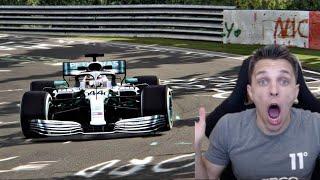 I Beat Nurburgring Lap Record In An F1 Car!