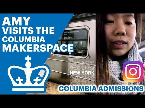 Columbia Admissions | Amy's Day at Columbia