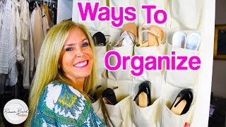 Organization Strategies | Shoes, Desks, TIPS to ORGANIZE a Household