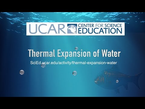 Thermal Expansion of Water Activity from UCAR SciEd