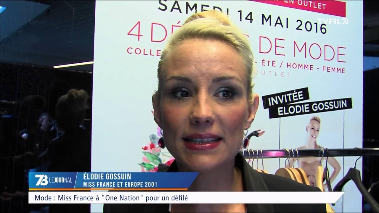 """Mode : Miss France à """"One Nation"""" pour un défilé"""
