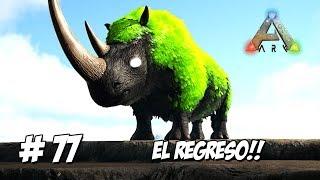 UNA NUEVA ESPERANZA! EL REGRESO DE NUESTROS AMIGOS DINOSAURIOS!  // #ArkSurvivalEvolved 3 MODS #77