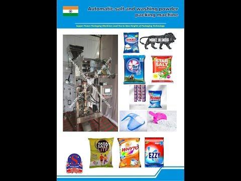 Washing Powder Automatic Packing Machine Manufacturer In
