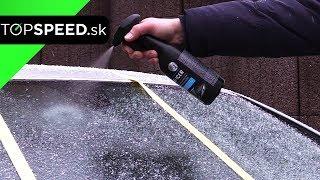 Odstránenie ľadu z čelného skla, rýchlo a bez námahy