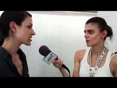 Eatliz interview for Antenna 5 radio Macedonia - EXIT festival 2011