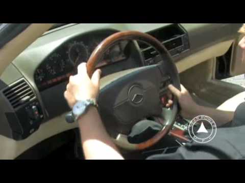 Instrument cluster removal - Mercedes