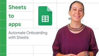Automate onboarding of company resources from a Google Sheet - Sheets to Apps