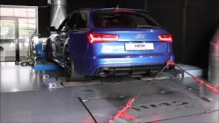 Audi RS6 4G mit HMS Performance Klappenabgasanlage