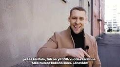 Aleksis Kiven katu 26, Kallio #neliötliikkuu