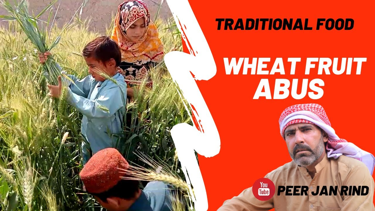 how to make traditional food fruit Abus [ Peer Jan Rind ]