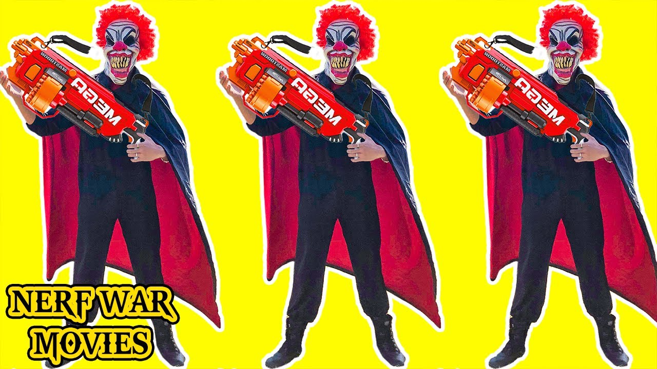 Nerf War Movies: The Criminal Group Nerf Attack On Superheroes Team