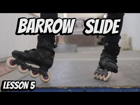 Download SLIDES ON SKATES - BARROW SLIDE ON INLINE SKATES - Lesson 5