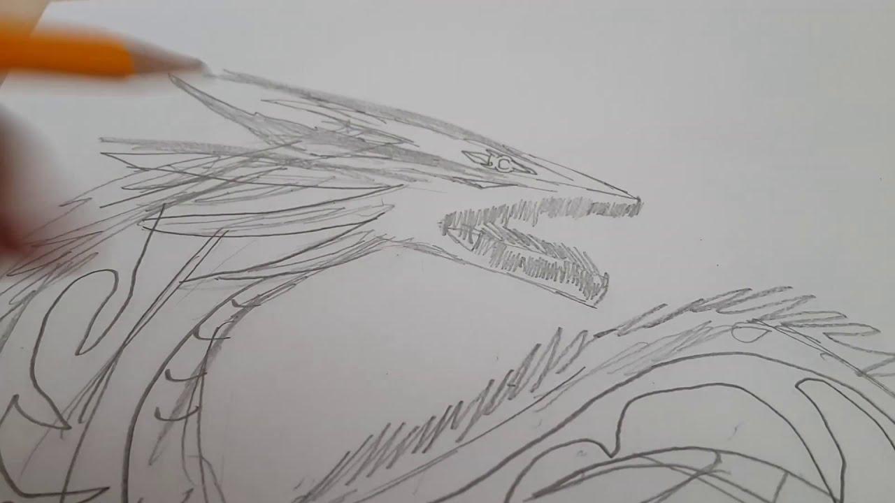 손그림 드래곤 그리기 용 Youtube