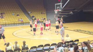 awesome unusual 6 point basketball play peyton carter point guard monarch high school