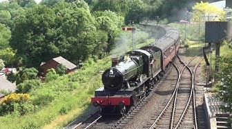 "Locomotive 7802 ""Bradley Manor"" | Severn Valley Railway (HD)"