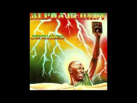 Alpha Blondy and the Wailers, Jerusalem. (Reggae)