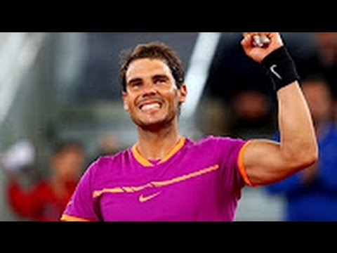 Rafael Nadal vs Novak Djokovic - Madrid SF 2017 Highlights [HD]