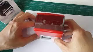 샤이니 S828 사업자명판+도장