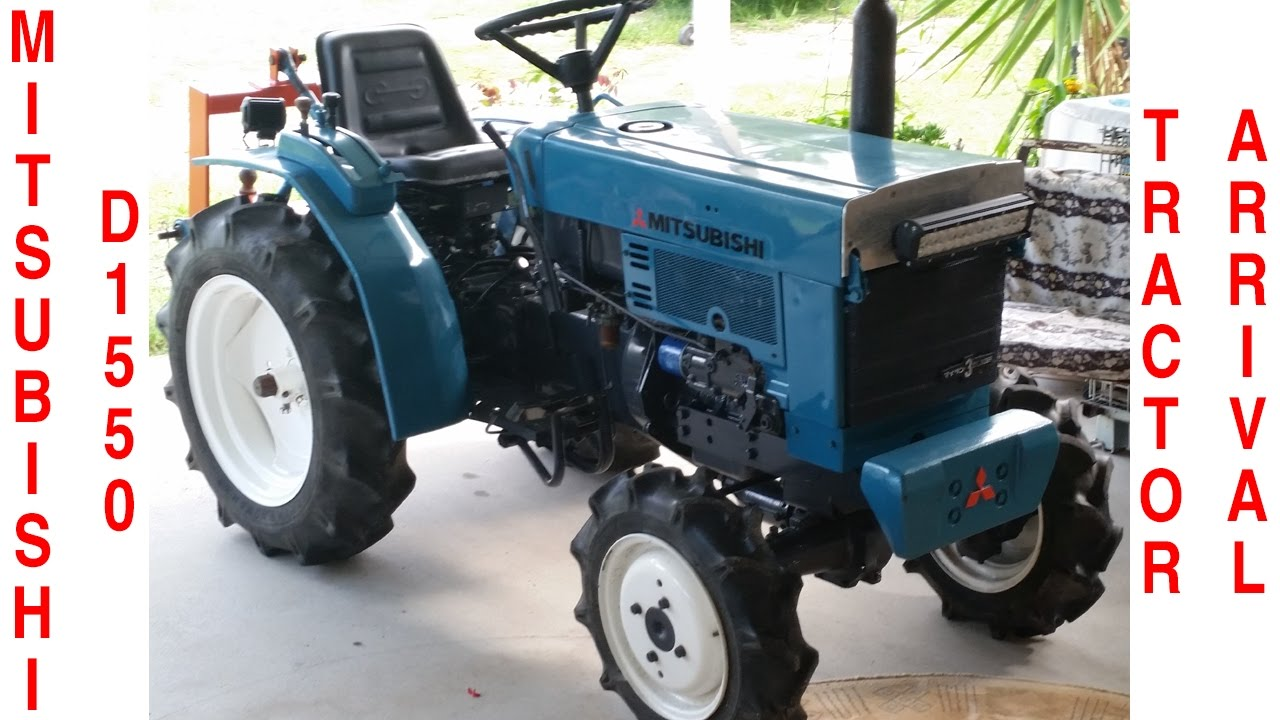 My New (2nd hand) D1550 Tractor