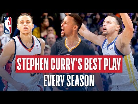 Stephen Curry's Best Play of Every Season thumbnail