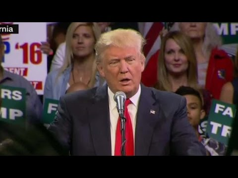 Trump: I will solve California drought