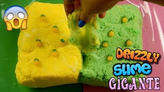 SLIME DRIZZLY GIGANTE CON NEVE FINTA! COME INSTAGRAM! Iolanda Sweets