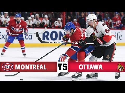 Montreal Canadiens vs Ottawa Senators | Season Game 20 | Highlights (20/11/16)