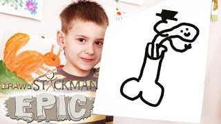 DRAW EVERYTHING! (Draw A Stickman)