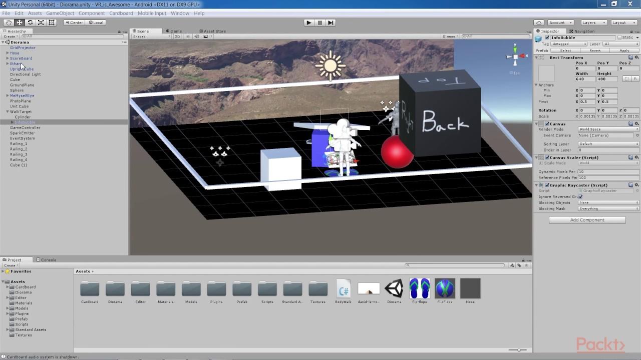 Unity Virtual Reality - Volume 2 : Unity Physics | packtpub com