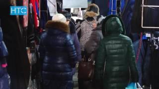 """Из-за обильного снегопада на рынке """"Дордой"""" может рухнуть крыша / 22.11.16 / НТС"""
