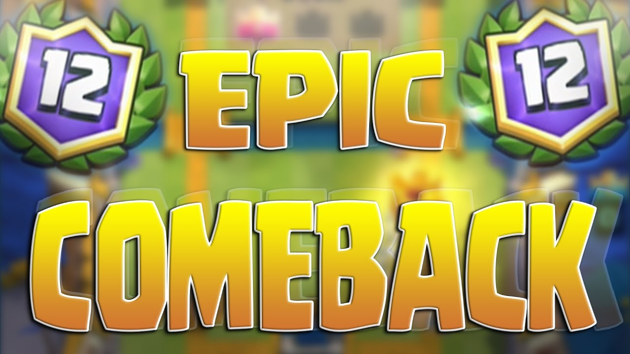 BEST COMEBACK EVER!! 12 WINS in Challenge! Clash Royale