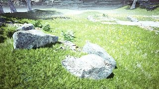How I use the Grass Tool in Unreal Engine 4