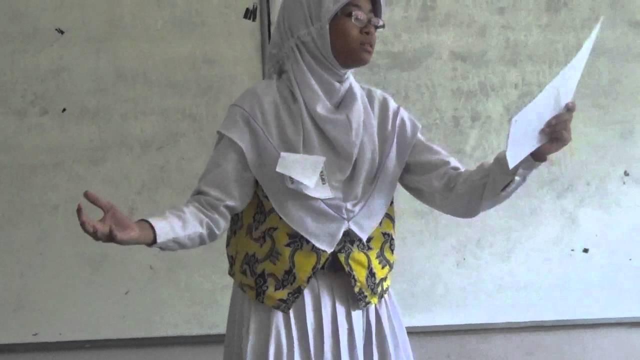 Nisrina Azzahra G Juara 1 Lomba Baca Dan Cipta Puisi Fls2n Kota