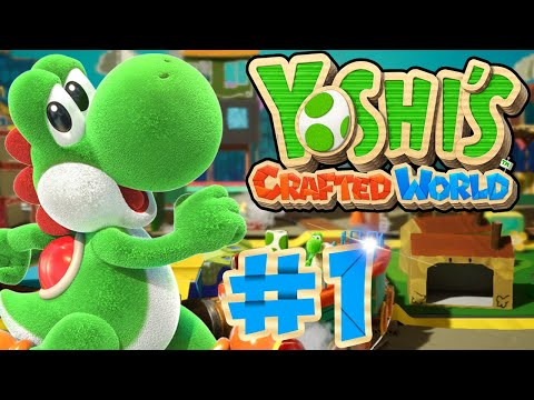 ABM: Yoshi Crafted World !! Gameplay Walkthrough # 1 ᴴᴰ