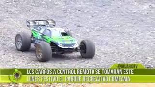 Gambar cover Los carros a control remoto se tomarán este lunes festivo el parque recreativo Comfama