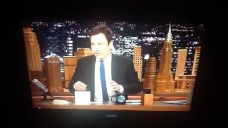Tonight Show thank you notes/sound effects from Steve Higgins