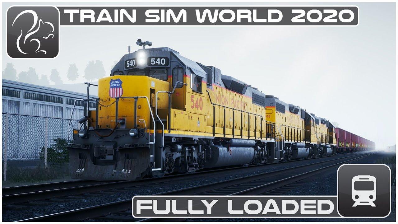 Fully Loaded - Train Sim World 2020 - GP38-2