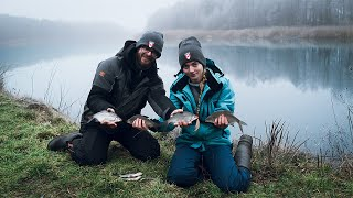 Рыбалка зимой на р.Припять. Готовим ДРАНИКИ на рыбалке с Таней!!!