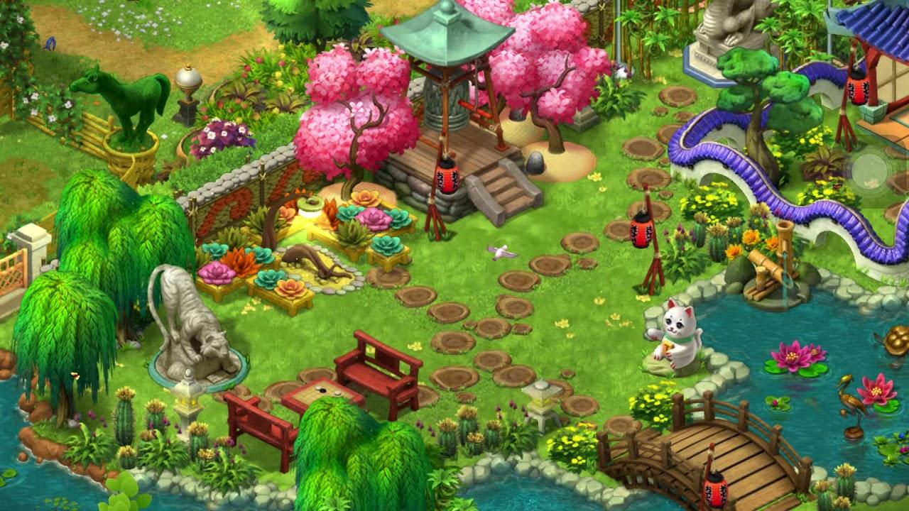 夢幻花園 Gardenscpes 第2344關 - YouTube