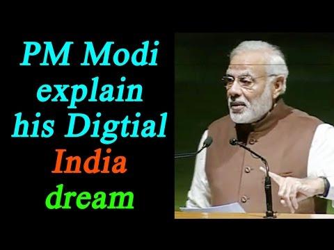 PM Modi explains how cashless economy will help Digital India push, Watch Video   Oneindia News