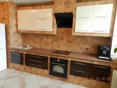 Кухня гипсокартон с плиткой своими руками